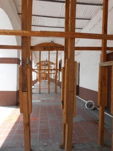 Imagen de Morelos: a más de dos años del sismo (propio), Portales del palacio municipal de Cuautla (atribuido)