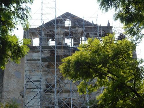 Imagen de Morelos: a más de dos años del sismo (propio), Excovento de San Juan Bautista (atribuido)