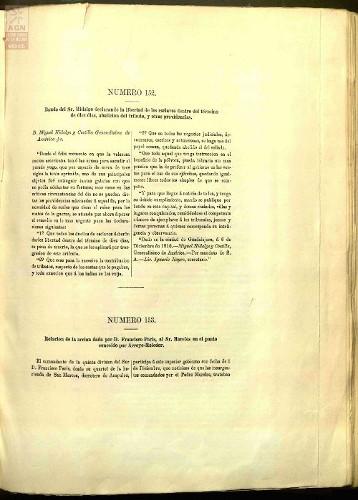 Imagen de Documento 152: Bando de Miguel Hidalgo aboliendo la esclavitud