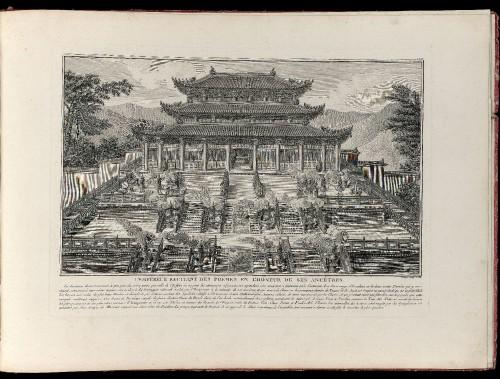 Imagen de Suite des seize estampes représentant les Conquêtes de l'empereur de la Chine : avec leur explication (propio)