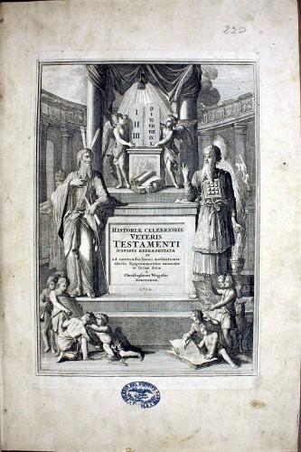Imagen de Historiae celebriores Veteris Testamenti : Iconibus representatae et ad excitandas bonas meditationes selectis Epigrammatibus exornatae in lucem datae à Christophoro Weigelio (propio)