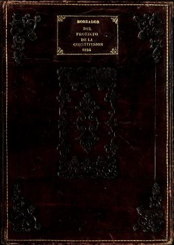 Imagen de Borrador de la Constitución Federal de los Estados Unidos Mexicanos (1824) (atribuido)