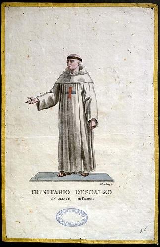 Imagen de Trinitario Descalzo sin manto, en Francia (propio)