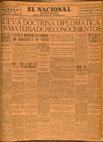 Imagen de El Nacional. Revolucionario. Diario matutino de información