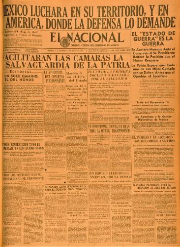 Imagen de El Nacional. Órgano oficial del Gobierno de México