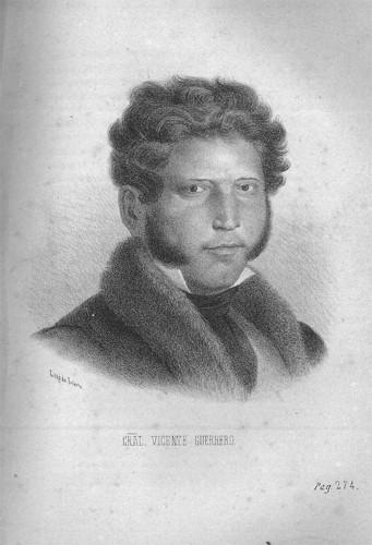 Imagen de Vicente Guerrero de Hesiquio Iriarte (atribuido)