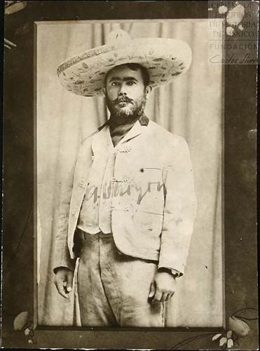 Imagen de El General Obregón en Celaya en el año de 1915 (atribuido)