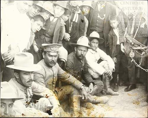 Imagen de El General Álvaro Obregón, junto con el General Francisco R. Serrano (atribuido)