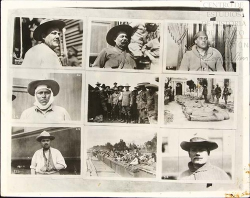 Imagen de Secuencia de fotografías sobre Obregón I (atribuido)