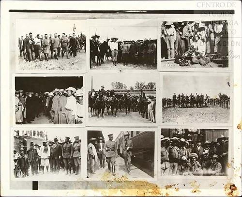 Imagen de Secuencia de fotografías sobre Obregón IV (atribuido)