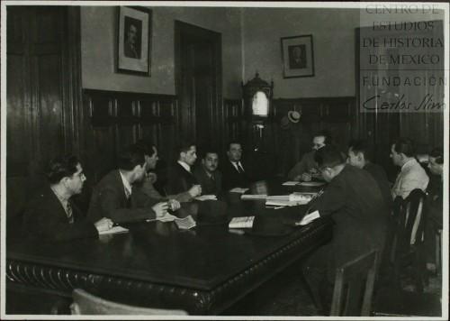 Imagen de Primera reunión del Consejo de Administración Petrolera (atribuido)