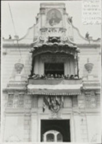 Imagen de Aspecto del Balcón Central del Palacio Nacional (atribuido)