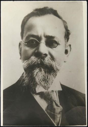 Imagen de Venustiano Carranza, gobernador constitucional del estado de Coahuila que se negó a reconocer al gobierno espurio de general Victoriano Huerta (atribuido)