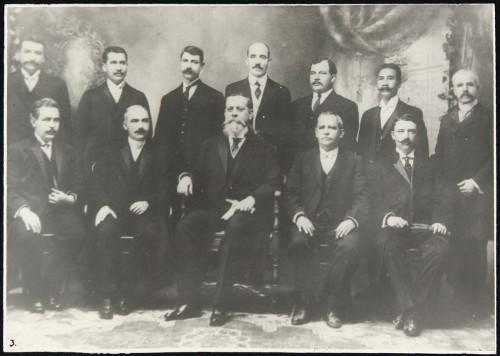 Imagen de Legislatura del estado de Coahuila que desconoció al gobierno del general Victoriano Huerta (atribuido)
