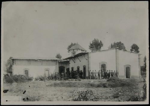 Imagen de Hacienda de Guadalupe, Coahuila, donde se firmó el Plan de Guadalupe el 26 de marzo de 1913 (atribuido)