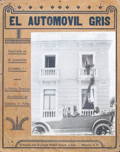 Imagen de El automóvil delante de una de las casas robadas (atribuido)