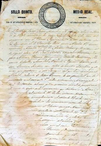 Imagen de Actas del Ilustre Ayuntamiento. Año de 1847 (propio)