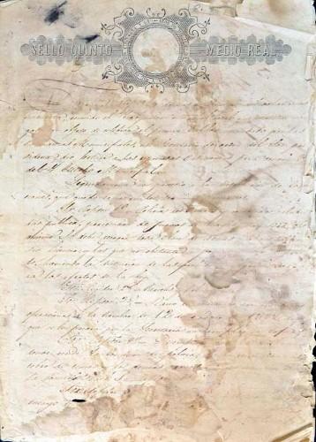 Imagen de Libro de Actas del Ilustre Ayuntamiento de Mazatepec, año de 1850 (atribuido)