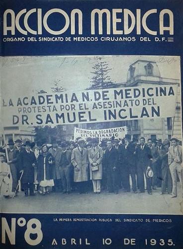 Imagen de Carta al sindicato (propio), Acción Médica: Órgano del Sindicato de Médicos Cirujanos del D.F. (alternativo)