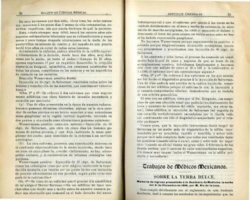 Imagen de Sobre la yerba dulce: Memoria de ingreso a la Academia de Medicina la noche del 31 de diciembre de 1856 (propio), Boletín de Ciencias Médicas (alternativo)