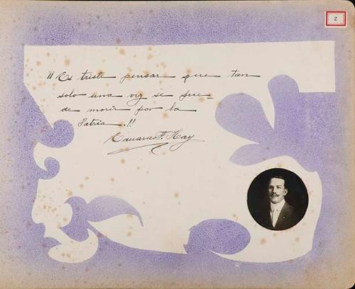 Imagen de Lámina de Eduardo Hay; para Francisco I. Madero (atribuido)