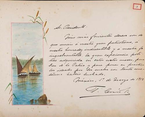 Imagen de Lámina de T. Cosío; para Francisco I. Madero (atribuido)