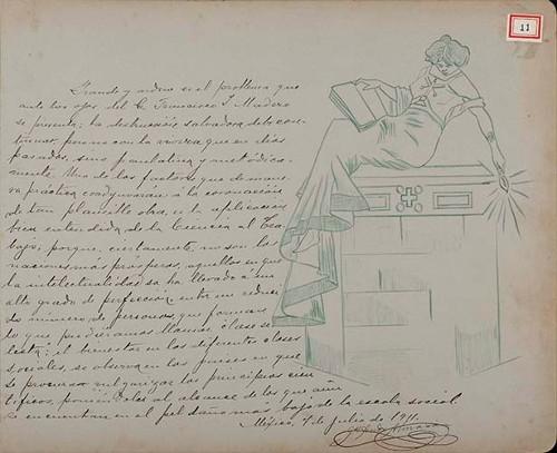 Imagen de Lámina de Juan Andreu Almazán; para Francisco I. Madero (atribuido)