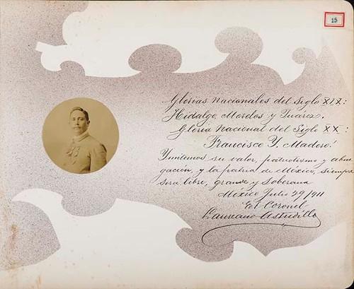Imagen de Lámina del Coronel Laureano Astudillo, vinculado a Andreu Almazán; para Francisco I. Madero (atribuido)