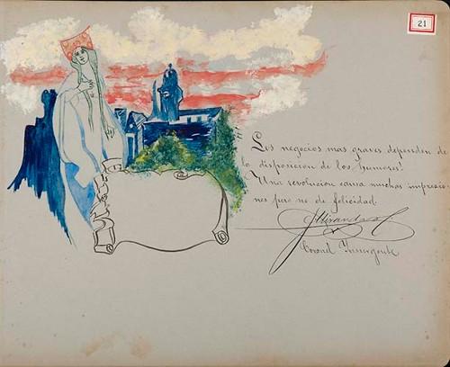 Imagen de Lámina de [J.] Miranda, Coronel Insurgente; para Francisco I. Madero (atribuido)