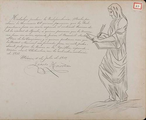 Imagen de Lámina de Jacobo [Harooban]; para Francisco I. Madero (atribuido)