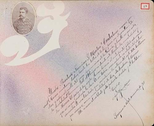 Imagen de Lámina del Capitán 1° Agustín Zambrano, Presidente Municipal 1914; para Francisco I. Madero (atribuido)