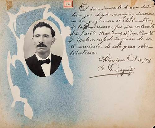 Imagen de Lámina de [P. Orozco]; para Francisco I. Madero (atribuido)