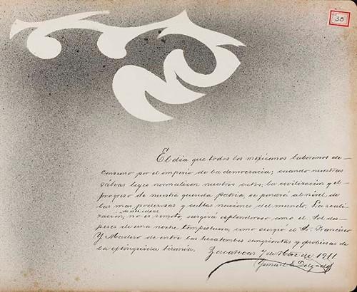 Imagen de Lámina de Ismael E. Delgado; para Francisco I. Madero (atribuido)