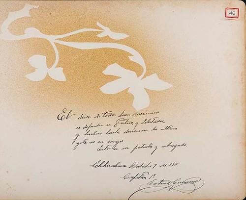 Imagen de Lámina del Cap. 1° Ventura Cereceres; para Francisco I. Madero (atribuido)