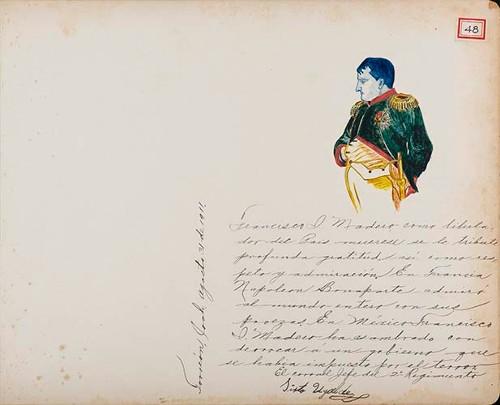 Imagen de Lámina del Coronel Sixto Ugalde, Jefe del 2° Regimiento, maderista y administrador de hacienda; para Francisco I. Madero (atribuido)