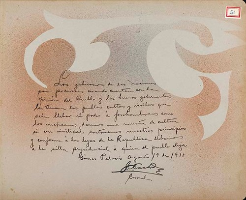Imagen de Lámina del Coronel J. [A.] Castro, maderista líder de peones y mineros en La Laguna; para Francisco I. Madero (atribuido)