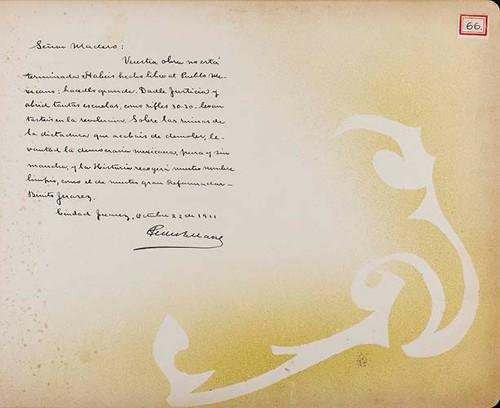 Imagen de Lámina de felicitación; para Francisco I. Madero (atribuido)
