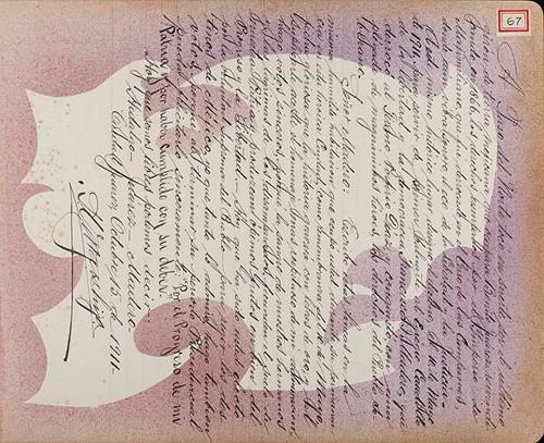 Imagen de Lámina de [I. Urges Hija]; para Francisco I. Madero (atribuido)