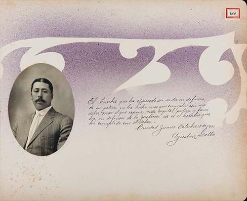 Imagen de Lámina de Agustín Gallo; para Francisco I. Madero (atribuido)