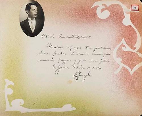 Imagen de Lámina de Felipe Ángeles; para Francisco I. Madero (atribuido)