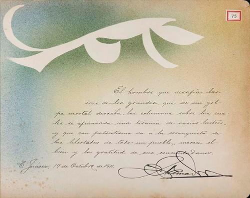 Imagen de Lámina de [J. Amador]; para Francisco I. Madero (atribuido)