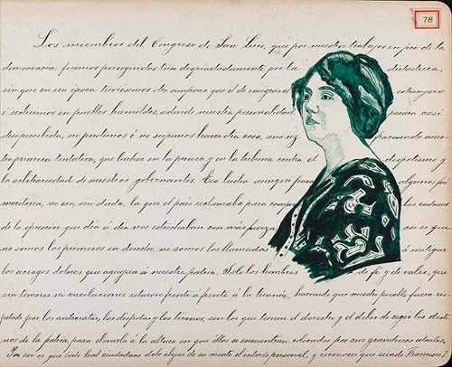 Imagen de Lámina de los Miembros del Congreso de San Luis; para Francisco I. Madero (atribuido)