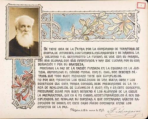 Imagen de Lámina de [Francisco Echegaray Allen] para Francisco I. Madero (atribuido)