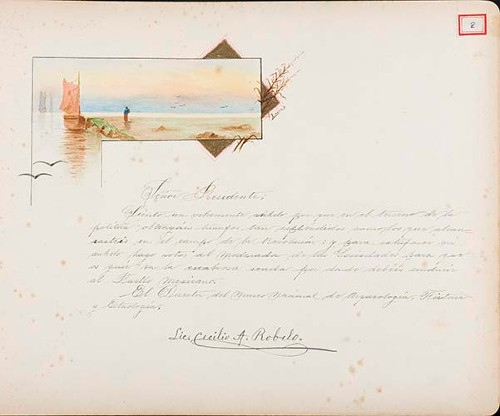 Imagen de Lámina del Lic. Cecilio A. Robelo; para Francisco I. Madero (atribuido)