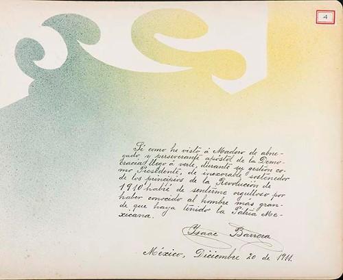 Imagen de Lámina de Isaac Barrera; para Francisco I. Madero (atribuido)