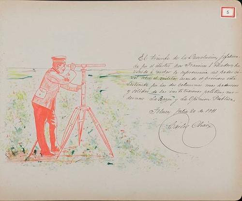 Imagen de Lámina de Carlos Chaix; para Francisco I. Madero (atribuido)