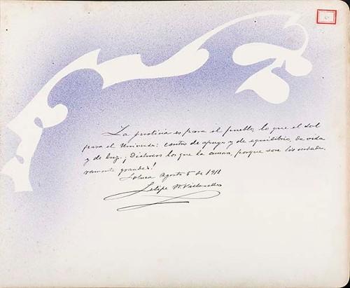 Imagen de Lámina de Felipe M. Villarello; para Francisco I. Madero (atribuido)