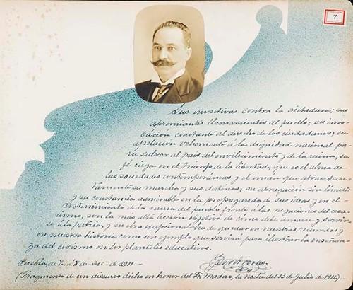 Imagen de Lámina de [I. Contreras]; para Francisco I. Madero (atribuido)