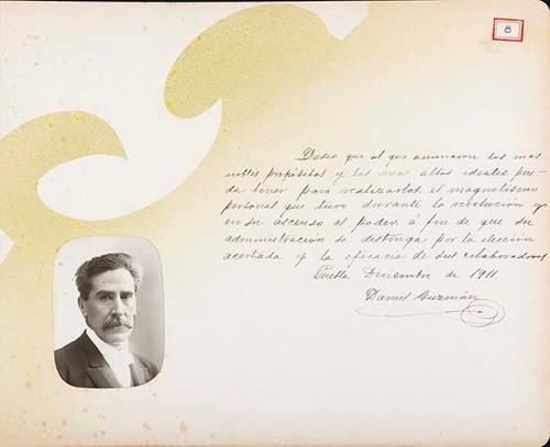 Imagen de Lámina de Daniel Guzmán; para Francisco I. Madero (atribuido)