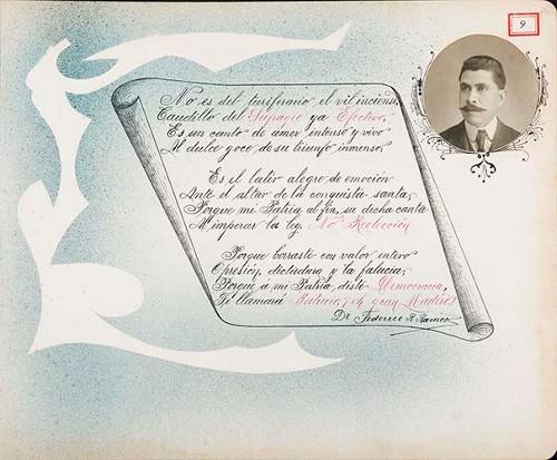 Imagen de Lámina del Dr. Federico R. Ramos; para Francisco I. Madero (atribuido)